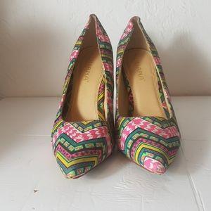 Liliana multicoloured heel